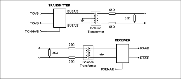 1553b coupler schematic